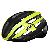 Dotout Targa - casco bici da corsa, Black/Yellow