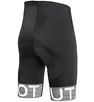 Dotout Team - pantaloni bici - uomo, Black/Grey
