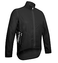 Dotout Tempo Pack Jacket Giacca a vento ciclismo, Black