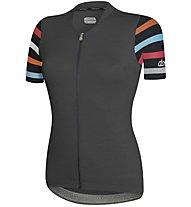 Dotout Touch - maglia bici - donna, Dark Grey/Black