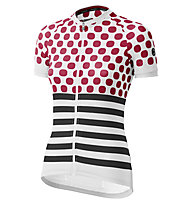 Dotout Up W Jersey - Radtrikot - Damen, Grey/Red/Black