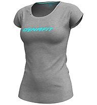 Dynafit 24/7 Drirelease Tee - T-Shirt - Damen, Grey/Azure