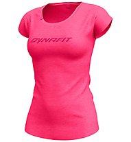 Dynafit 24/7 Drirelease Tee - T-Shirt - Damen, Pink