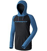 Dynafit 24/7 Logo - Kapuzenpullover - Damen, Black/Light Blue