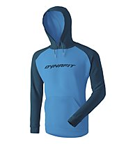 Dynafit 24/7 Logo M - Kapuzenpullover - Herren, Dark Blue/Light Blue