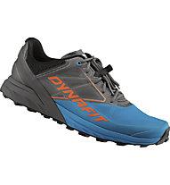 Dynafit Alpine - scarpe trail running - uomo, Dark Grey/Light Blue/Orange