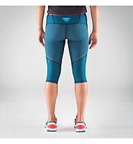 Dynafit Alpine 2 - pantaloni trailrunning a 3/4 - donna, Blue