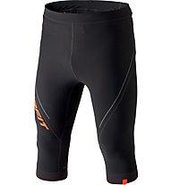 Dynafit Alpine 3/4 - pantaloni trail running - uomo, Black/Orange