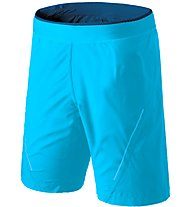 Dynafit Alpine - kurze Trailrunninghose - Herren, Light Blue