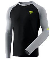 Dynafit Alpine Pro - maglia a manica lunga - uomo, Black/Grey/Yellow