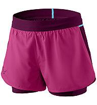 Dynafit Alpine Pro - kurze 2/1-Trailrunninghose - Damen, Pink/Violet