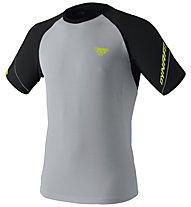 Dynafit Alpine Pro - Trailrunningshirt Kurzarm - Herren, Grey/Black/Yellow