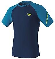 Dynafit Alpine Pro - Trailrunningshirt Kurzarm - Herren, Blue/Light Blue/Yellow