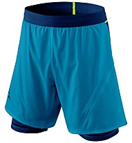 Dynafit Alpine Pro 2/1 - pantaloni trail running - uomo, Light Blue/Blue
