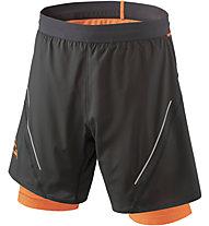 Dynafit Alpine Pro 2/1 - kurze 2/1- Trailrunninghose - Herren, Black/Orange