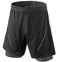 Dynafit Alpine Pro 2/1 - pantaloni trail running - uomo, Black/Grey