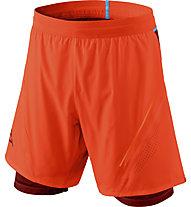 Dynafit Alpine Pro 2/1 - pantaloni trail running - uomo, Dark Orange/Light Blue