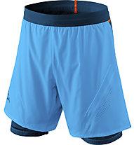 Dynafit Alpine Pro 2/1 - pantaloni trail running - uomo, Light Blue/Blue/Orange