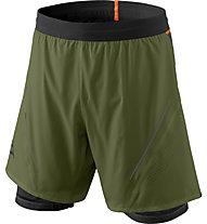 Dynafit Alpine Pro 2/1 - kurze 2/1- Trailrunninghose - Herren, Dark Green/Black