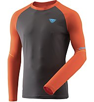 Dynafit Alpine Pro - Langarmshirt Trailrunning - Herren, Orange/Black