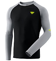 Dynafit Alpine Pro - Langarmshirt Trailrunning - Herren, Black/Grey/Yellow