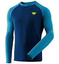 Dynafit Alpine Pro - Langarmshirt Trailrunning - Herren, Blue/Light Blue/Yellow
