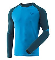 Dynafit Alpine Pro - Langarmshirt Trailrunning - Herren, Navy/Light Blue