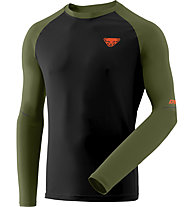 Dynafit Alpine Pro - maglia a manica lunga - uomo, Black/Dark Green