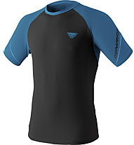 Dynafit Alpine Pro - Trailrunningshirt Kurzarm - Herren, Black/Blue