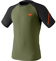 Dynafit Alpine Pro - Trailrunningshirt Kurzarm - Herren, Green/Black