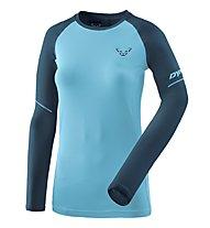 Dynafit Alpine Pro - Langarmshirt Trailrunning - Damen, Navy/Blue