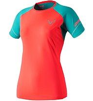 Dynafit Alpine Pro - Trailrunningshirt Kurzarm - Damen, Red