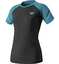 Dynafit Alpine Pro - Trailrunningshirt Kurzarm - Damen, Black/Blue