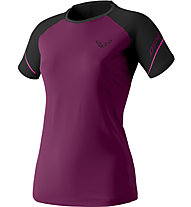 Dynafit Alpine Pro - Trailrunningshirt Kurzarm - Damen, Violet/Black