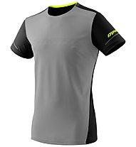 Dynafit Alpine - maglia trail running - uomo, Grey/Black/Yellow