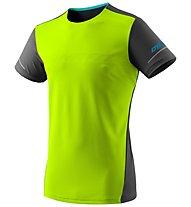 Dynafit Alpine - maglia trail running - uomo, Yellow/Black/Blue