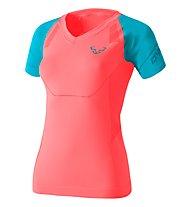 Dynafit Alpine Seamless - Kurzarm-Shirt Bergsport - Damen, Light Red