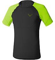 Dynafit Alpine Seamless - T-shirt trekking - uomo, Black Green