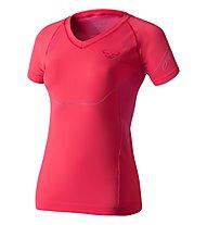 Dynafit Alpine Seamless - Kurzarm-Shirt Bergsport - Damen, Red