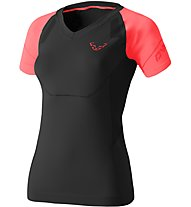 Dynafit Alpine Seamless - Kurzarm-Shirt Bergsport - Damen, Black
