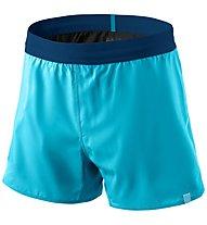 Dynafit Alpine - pantaloni corti trail running - donna, Light Blue/Blue