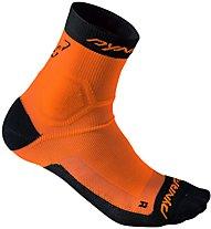 Dynafit Alpine - kurze Socken Trailrunning - Herren, Orange