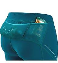 Dynafit Alpine 3/4 - pantaloni trail running - donna, Light Blue