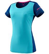 Dynafit Alpine W Tee - Shirt Trialrunning - Damen, Azure/Blue/Pink