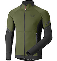 Dynafit Alpine Warm - Fleecejacke Trailrunning - Herren, Green/Black