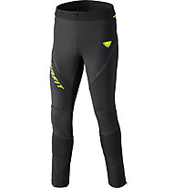 Dynafit Alpine Warm - pantaloni trail running - uomo, Black/Yellow