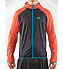 Dynafit Alpine Wind 2 - giacca antivento con cappuccio - uomo, Orange/Black