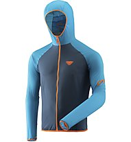 Dynafit Alpine Wind 2 - giacca antivento con cappuccio - uomo, Blue