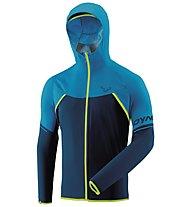 Dynafit Alpine WP 2,5L - giacca hardshell con cappuccio - uomo, Light Blue/Dark Blue