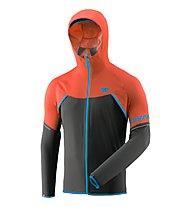 Dynafit Alpine WP 2,5L - giacca hardshell con cappuccio - uomo, Orange/Black